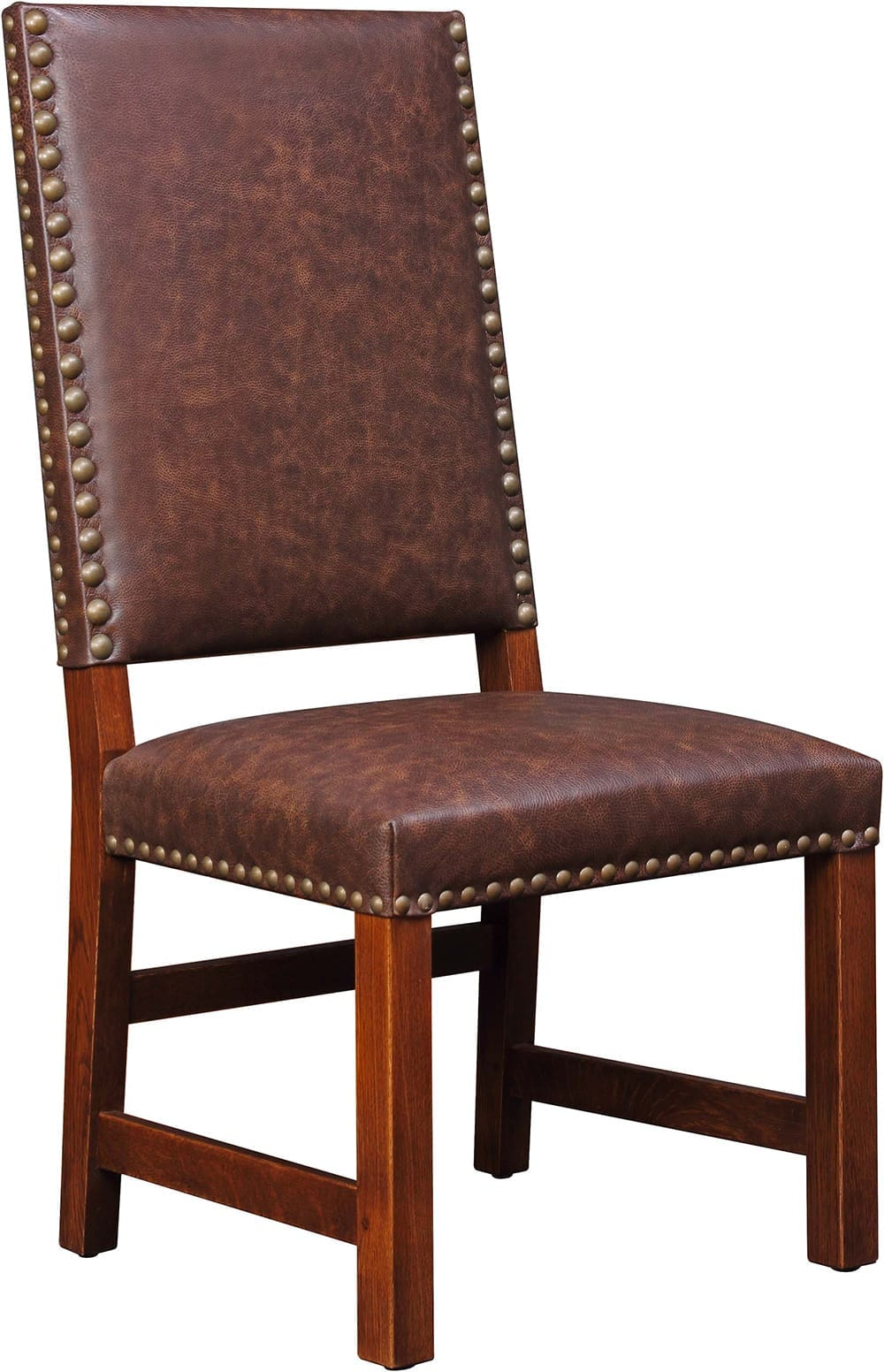 Tall Back Upholstered Side Chair